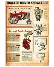 Tractor Knowledge 11x17 Poster front