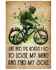 Cycling Lose My Mind 11x17 Poster front