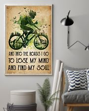 Cycling Lose My Mind 11x17 Poster lifestyle-poster-1