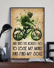 Cycling Lose My Mind 11x17 Poster lifestyle-poster-2