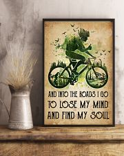Cycling Lose My Mind 11x17 Poster lifestyle-poster-3