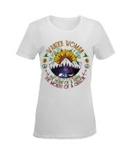 Wander woman Ladies T-Shirt women-premium-crewneck-shirt-front
