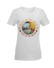 Live  Ladies T-Shirt women-premium-crewneck-shirt-front