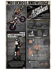 Motocross Knowledge  11x17 Poster front