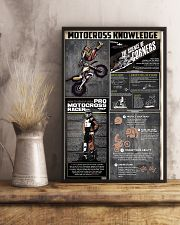 Motocross Knowledge  11x17 Poster lifestyle-poster-3