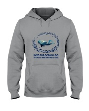 Into The Ocean I Go To Lose My Mind Hooded Sweatshirt thumbnail