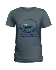 Into The Ocean I Go To Lose My Mind Ladies T-Shirt thumbnail