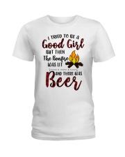 Bonfire Ladies T-Shirt front