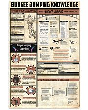 Bungee Jumping Knowledge 11x17 Poster front