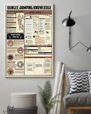 Bungee Jumping Knowledge 11x17 Poster lifestyle-poster-1