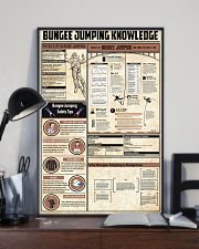 Bungee Jumping Knowledge 11x17 Poster lifestyle-poster-2