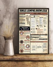 Bungee Jumping Knowledge 11x17 Poster lifestyle-poster-3