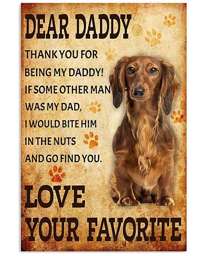 Dear daddy dachshund
