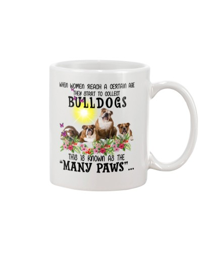 Many paws bulldogs -