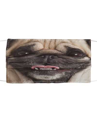 Funny Pug Lover Face Mask
