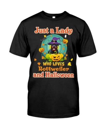 Rottie halloween