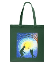 Fetch with man golden Tote Bag thumbnail