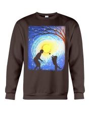 Fetch with man golden Crewneck Sweatshirt thumbnail