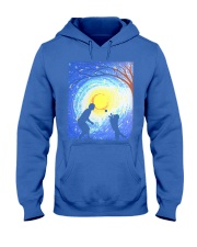 Fetch with man golden Hooded Sweatshirt thumbnail