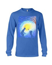 Fetch with man golden Long Sleeve Tee thumbnail
