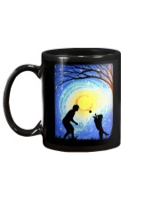 Fetch with man golden Mug back