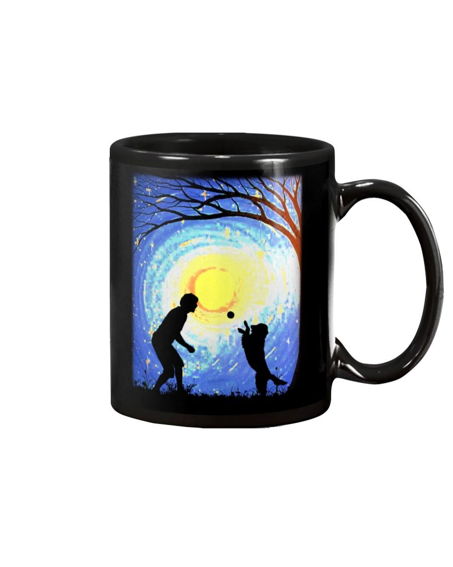 Fetch with man golden Mug