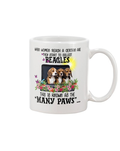 Many paws beagles  -