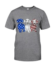 Dachshund Independence Day Classic T-Shirt thumbnail