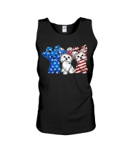Yorkshire Terrier Independence Day Unisex Tank thumbnail