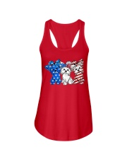 Yorkshire Terrier Independence Day Ladies Flowy Tank thumbnail