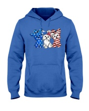 Yorkshire Terrier Independence Day Hooded Sweatshirt thumbnail