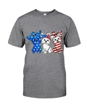 Yorkshire Terrier Independence Day Classic T-Shirt thumbnail