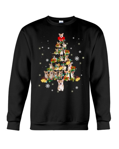 Corgi - Christmas Tree