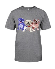 Bulldog Independence Day Classic T-Shirt tile