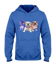 Bulldog Independence Day Hooded Sweatshirt thumbnail