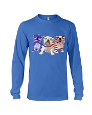Bulldog Independence Day Long Sleeve Tee tile