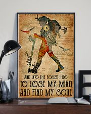 Hiking Find My Soul Vertical Poster 11x17 Poster lifestyle-poster-2
