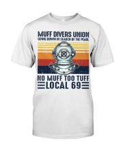 Scuba Muff Divers Union Classic T-Shirt front