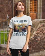 2020 SLOTH HIKING TEAM Classic T-Shirt apparel-classic-tshirt-lifestyle-06