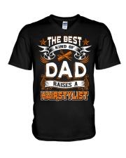DAD HAIRSTYLIST V-Neck T-Shirt thumbnail