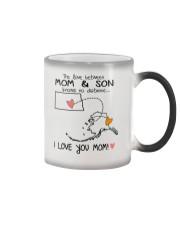 34 02 ND AK North Dakota Alaska Mom and Son D1 Color Changing Mug thumbnail