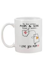 35 01 OH AL Ohio Alabama Mom and Son D1 Mug back