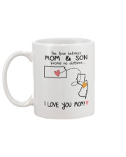 16 30 KS NJ Kansas New Jersey Mom and Son D1 Mug back