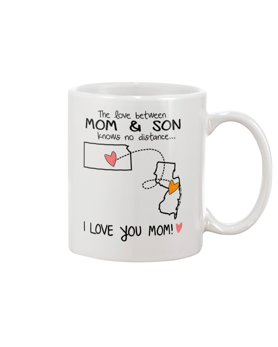 16 30 KS NJ Kansas New Jersey Mom and Son D1 Mug