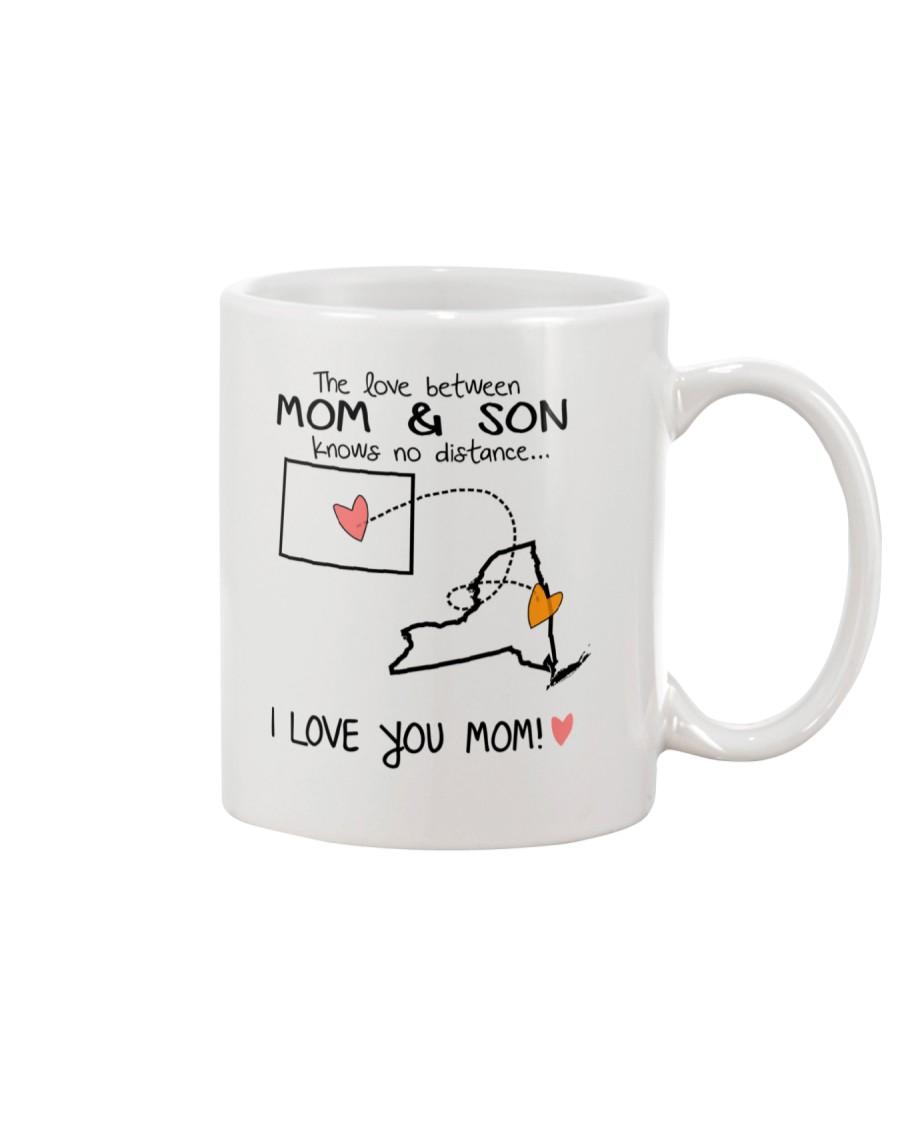 06 32 CO NY Colorado New York Mom and Son D1 Mug