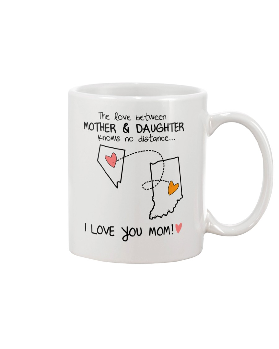 28 14 NV IN Nevada Indiana mother daughter D1 Mug
