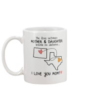 50 43 WY TX Wyoming Texas mother daughter D1 Mug back