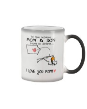 15 20 IA MD Iowa Maryland Mom and Son D1 Color Changing Mug thumbnail