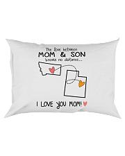 26 44 MT UT Montana Utah PMS6 Mom Son Rectangular Pillowcase thumbnail