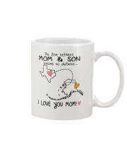 43 02 TX AK Texas Alaska PMS6 Mom Son Mug tile